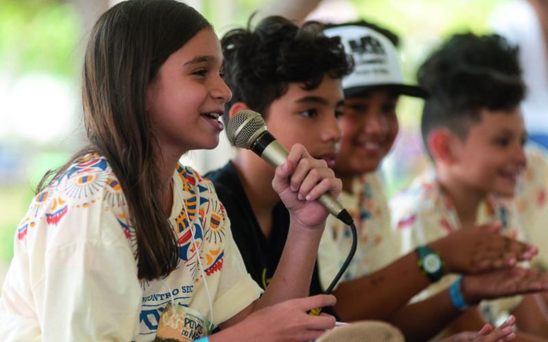 Diálogos em Rede: As crianças do Cajueiro