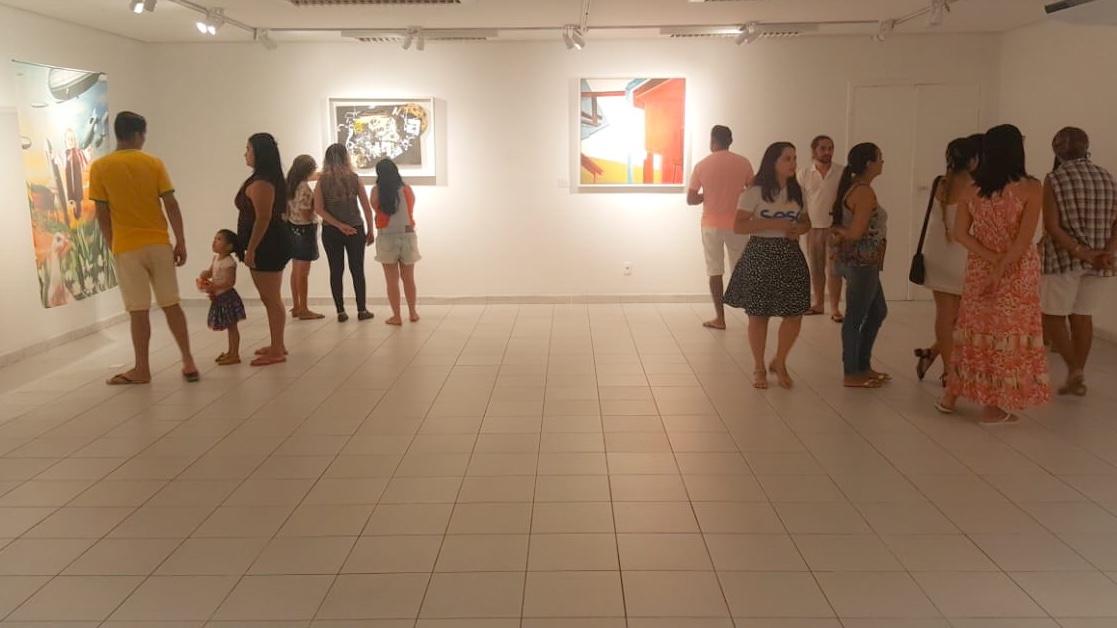 """Exposição nacional """"O Designo e a Matéria"""" chega à Iguatu"""
