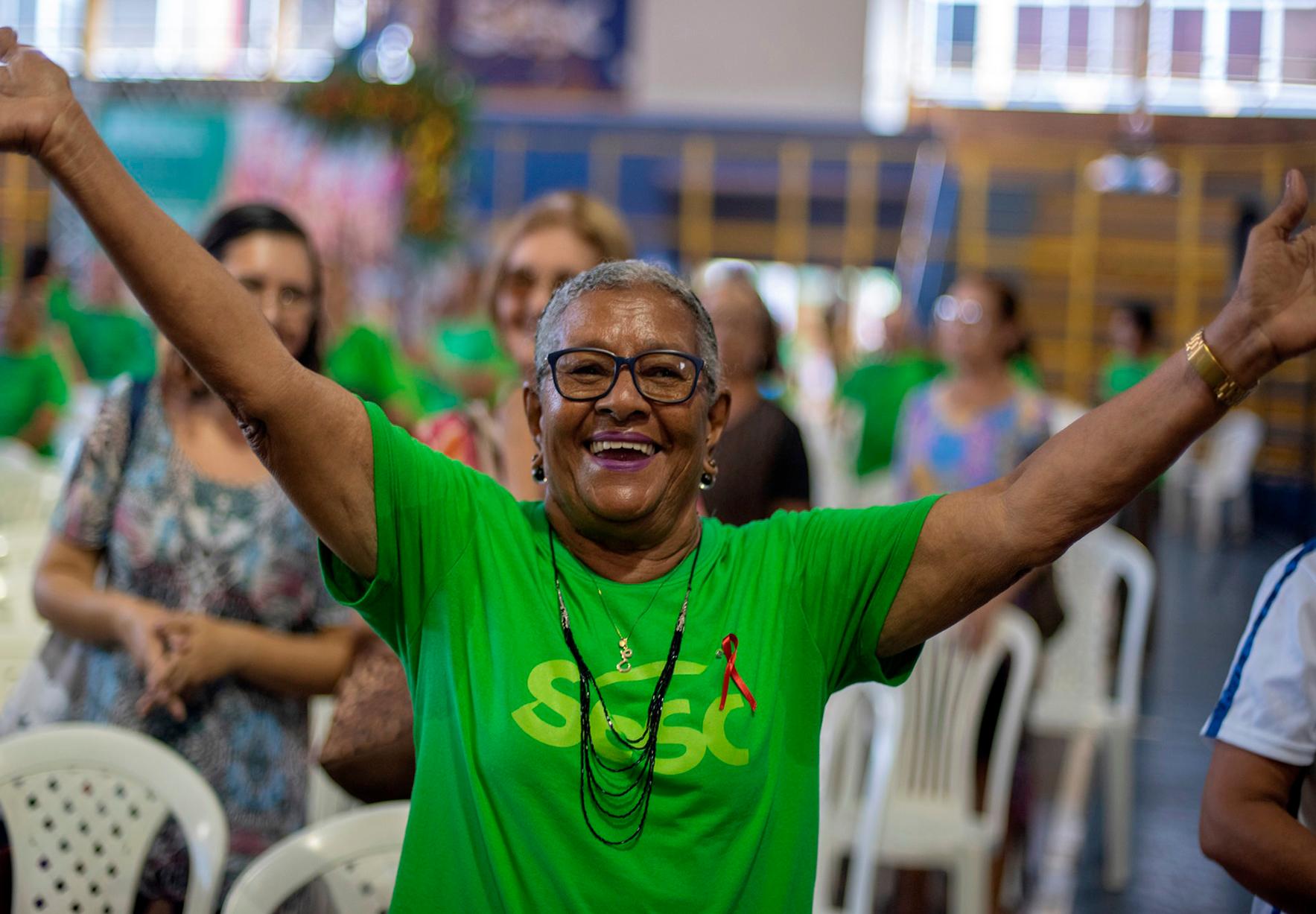 Duzentas inscrições para atividades de envelhecimento ativo estão disponíveis no Sesc