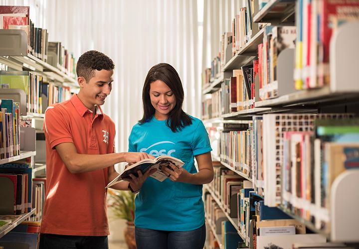 Mais de cento e dez mil livros à disposição dos cearenses nas Bibliotecas do Sesc