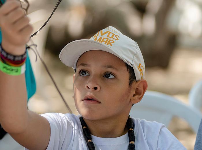 Povos do Mar para crianças: mestres ensinam brincadeiras tradicionais