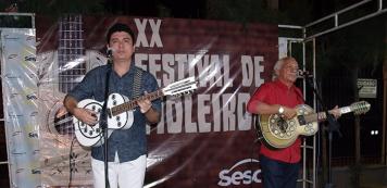 17 duplas de repentistas animam o XXII Festival de Violeiros do Sesc Iguatu