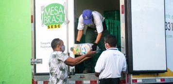 Mesa Brasil Sesc integra programa Sua Nota Tem Valor
